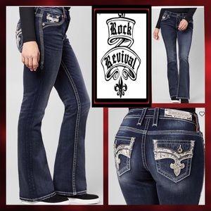 Rock Revival Yui bootcut Jeans size 27